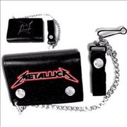 Click here for more info about 'Metallica - Black Leather Wallet'