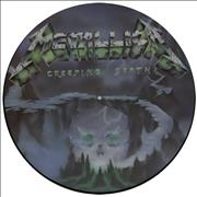 """Metallica Creeping Death - 2nd issue UK 12"""" picture disc"""