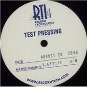 Metallica Death Magnetic - Test Pressing USA 5-LP vinyl set