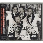 Metallica Die Die My Darling Japan CD single
