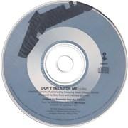 Metallica Don't Tread On Me USA CD single Promo