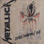 Click here for more info about 'Metallica - Enter Sandman / One'