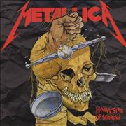 "Metallica Harvester Of Sorrow - Skull Label UK 12"" vinyl"