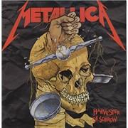 "Metallica Harvester Of Sorrow - Skull label - EX UK 12"" vinyl"