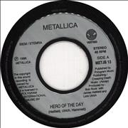 Click here for more info about 'Metallica - Hero Of The Day - EX'