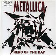 Click here for more info about 'Metallica - Hero Of The Day - Part 2'