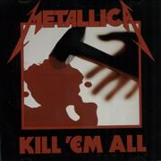 Click here for more info about 'Metallica - Kill 'Em All'