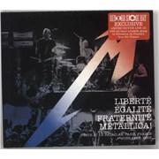 Metallica Liberte, Egalite, Fraternite, Metallica! - RSD 16 UK CD album