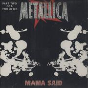 Click here for more info about 'Metallica - Mama Said - CD2'