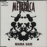 Click here for more info about 'Metallica - Mama Said'