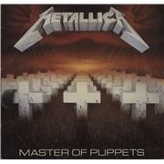 Metallica Master Of Puppets - Glossy Sleeve UK vinyl LP