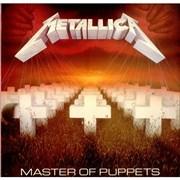 Metallica Master Of Puppets UK vinyl LP