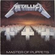 Metallica Master Of Puppets Spain vinyl LP