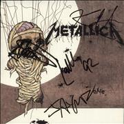 Click here for more info about 'Metallica - One - Autographed'
