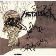 "Metallica One - Autographed USA 7"" vinyl"