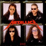Click here for more info about 'Metallica - One - Red disc'