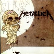 """Metallica One UK 12"""" vinyl"""