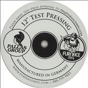 Click here for more info about 'Metallica - Reload - Test Pressing'