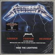 Click here for more info about 'Metallica - Ride The Lightning - 45 RPM Series - Sealed'