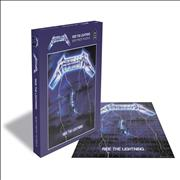 Metallica Ride The Lightning - Rock Saws 500 Jigsaw UK Toy