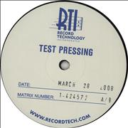 Click here for more info about 'Metallica - Ride The Lightning - Test Pressing'