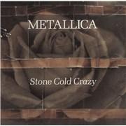 Metallica Stone Cold Crazy USA CD single Promo