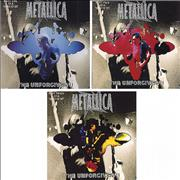 Click here for more info about 'Metallica - The Unforgiven II - 3 x CD single set'