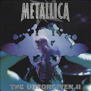Metallica The Unforgiven II USA CD single Promo