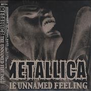 Metallica The Unnamed Feeling Japan CD single