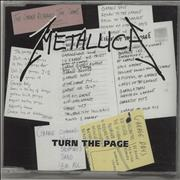 Click here for more info about 'Metallica - Turn The Page'