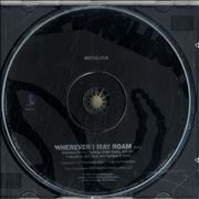 Metallica Wherever I May Roam USA CD single Promo