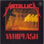 "Metallica Whiplash - EX USA 12"" vinyl"