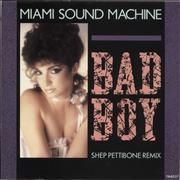 Click here for more info about 'Miami Sound Machine - Bad Boy (Shep Pettibone Remix)'