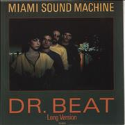 Click here for more info about 'Miami Sound Machine - Dr Beat (Long Version) + Sleeve'