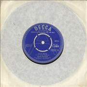 "Miar Davies Navy Blue UK 7"" vinyl Promo"