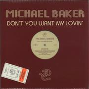 Click here for more info about 'Michael Baker - Don't You Want My Lovin''