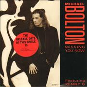 Click here for more info about 'Michael Bolton - Missing You Now + Press release'