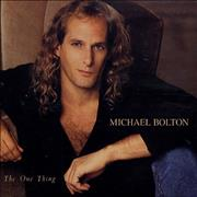Click here for more info about 'Michael Bolton - The One Thing'