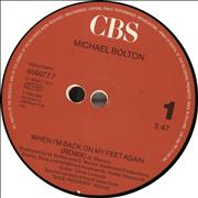 Click here for more info about 'Michael Bolton - When I'm Back On My Feet Again'