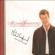 Click here for more info about 'Michael Crawford - The Most Wonderful Time Of The Year - Autographed'