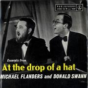 Click here for more info about 'Michael Flanders & Donald Swann - Excerpts From At The Drop Of A Hat'