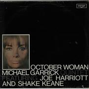 Click here for more info about 'Michael Garrick - October Woman - VG'