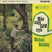 """Michael Holliday Mike Sings Country And Western Style EP UK 7"""" vinyl"""