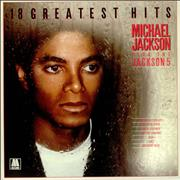 Click here for more info about 'Michael Jackson - 18 Greatest Hits'