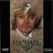 Click here for more info about 'Michael Jackson - 1989 Calendar - 16 Month Edition'