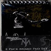 Click here for more info about 'Michael Jackson - 2 Pack Memo Pad Set - King Of Pop'