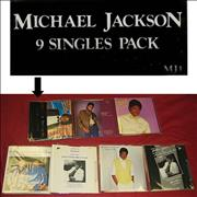 Click here for more info about 'Michael Jackson - 9 Singles Pack - Complete - EX'