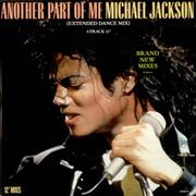 Click here for more info about 'Michael Jackson - Another Part Of Me - Stickered'