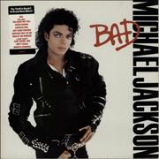 Click here for more info about 'Michael Jackson - Bad - tracklist stickered picture sleeve'