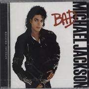 Michael Jackson Bad [Special Edition] - still sealed UK CD album